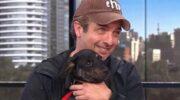 Qué pasó con el perro que Ricardo Darín rescató y llevó al programa de Leo Montero ?